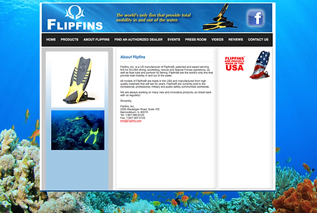 Durning Communications website 11