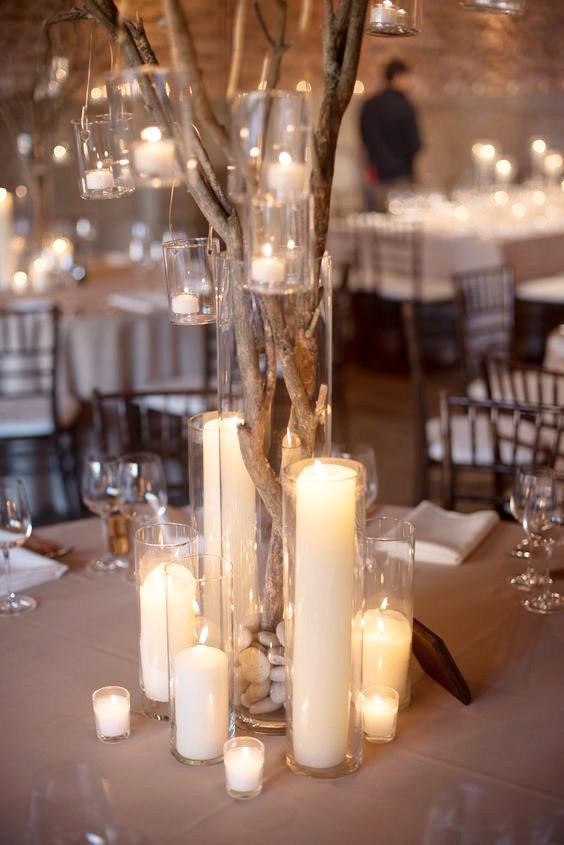 Brand Wedding Centrepiece