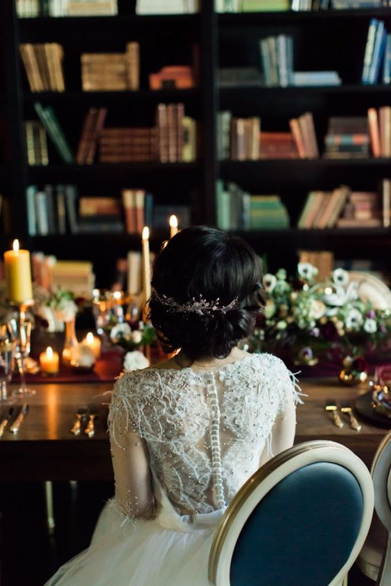 Historic Library Wedding