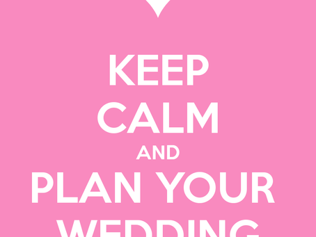 Stay Calm & Wedding On: Tips to Stay Sane