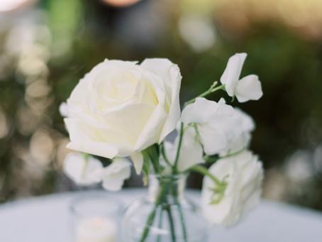 English Garden Themed Micro-Wedding