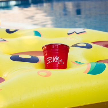 Double Wall Red Party Cups