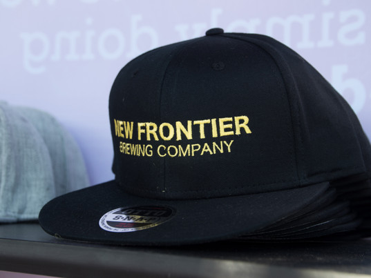 Embroidered Flat Bill Hat