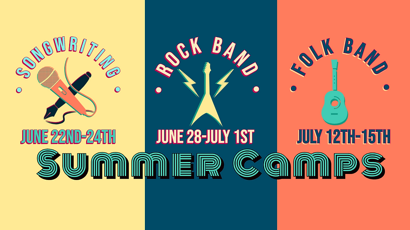 summer camp guitar vocals rock band song