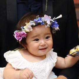 フラワーガール 花冠
