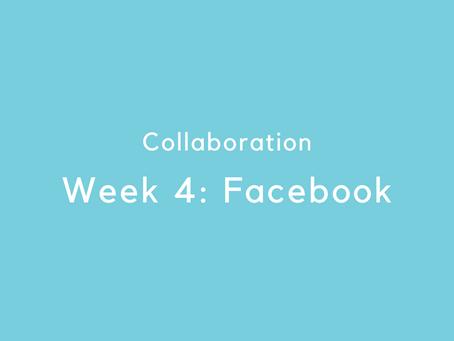 Week 4: Facebook