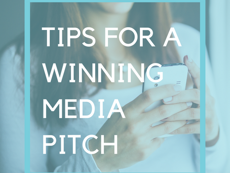 Tips for a Winning Media Pitch