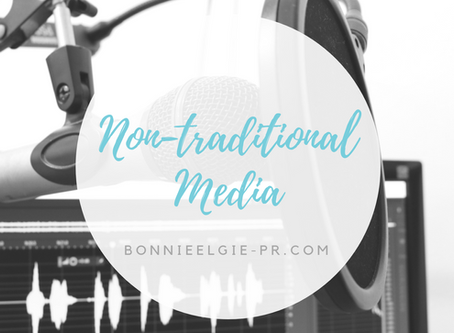Nontraditional Media Relations