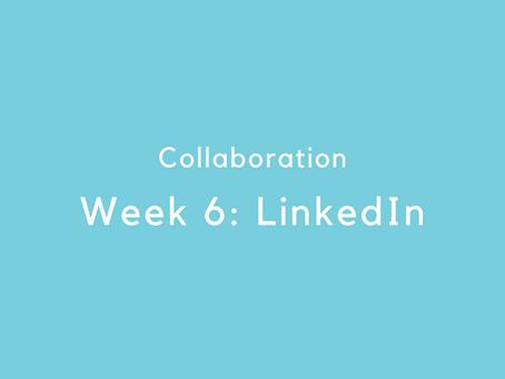 Week 6: LinkedIn