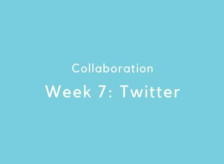 Week 7: Twitter