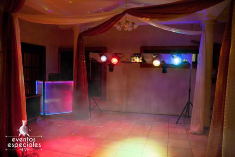 maquina de humo de coraciones discomovil luces fiestas