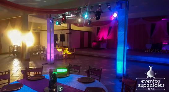 discomovil luces salones decoracion para bodas banquete