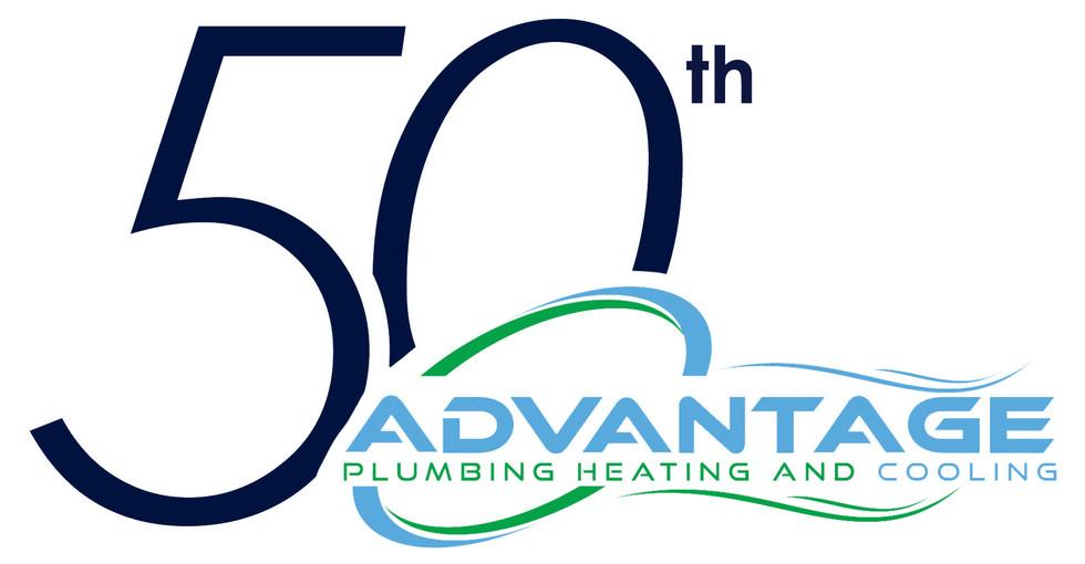 Advantage 50th Anniversary Logo