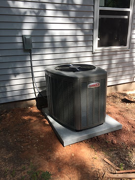 An Lennox EL16XC installed by Trent from Advantage in Stillwater.