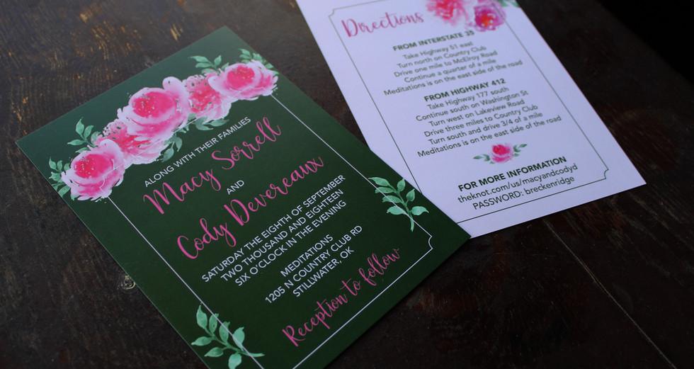My Wedding Invitation