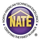 Technicians at Advantage are NATE certified.