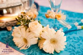 decoracion de lujo flores naturales