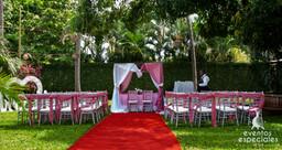 bodas novios casamientos sillas tiffany rosado rosa plateado
