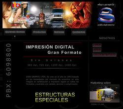 Web site para Signgraphics