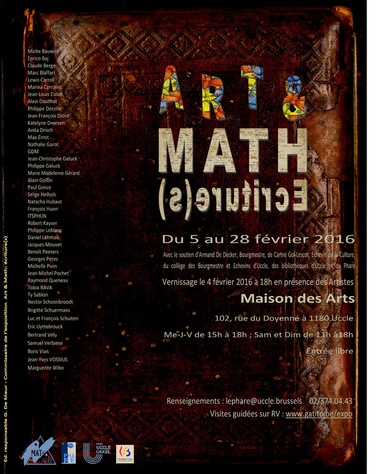 Art & Math : Ecriture(s)