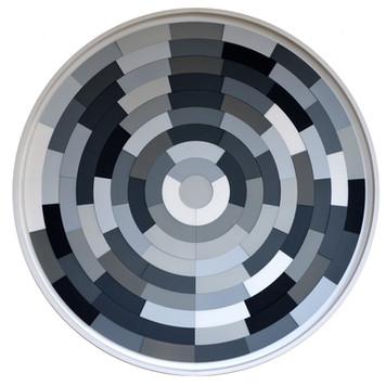 Puzzle Pi Grey 1, 2015