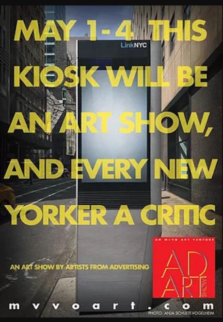 Ad Art Show NYC