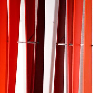 Scissors Totems Red, 2010