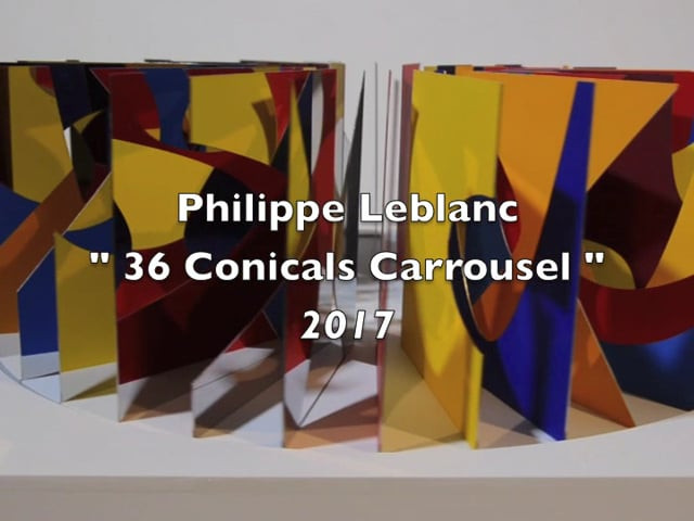 36 Conicals Carousel BYR, 2017