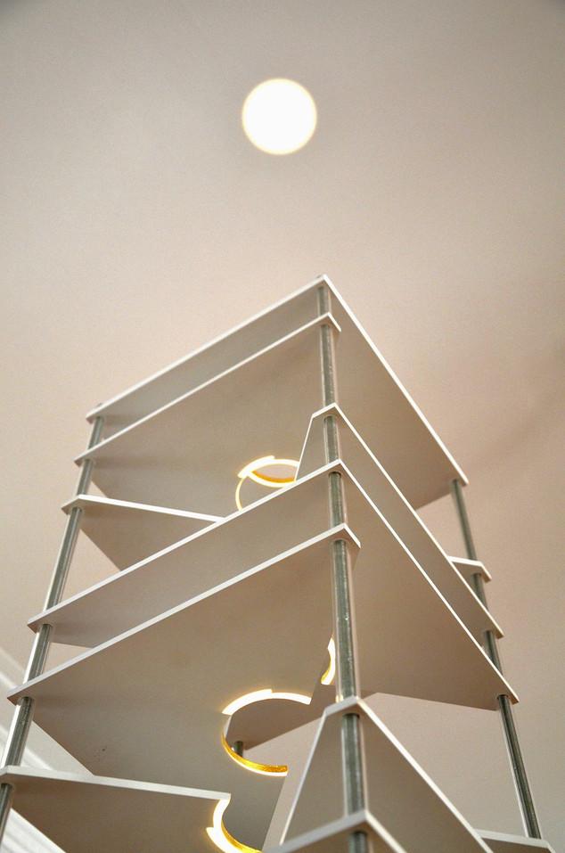28 Triangles Column, 2012