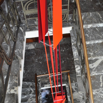 9 Scissors Totems Red, 2010