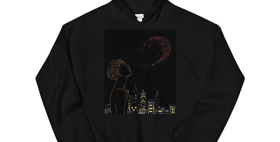 Commissioned Hoodie for No Disturbance