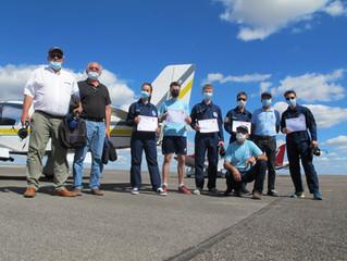 Accueil de l'Escadrille Air Jeunesse de l'Armée de l'air