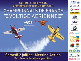 Championnats de France de Voltige Aérienne 2016