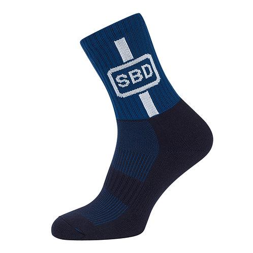 Спортивные носки синие (летняя серия 2019)