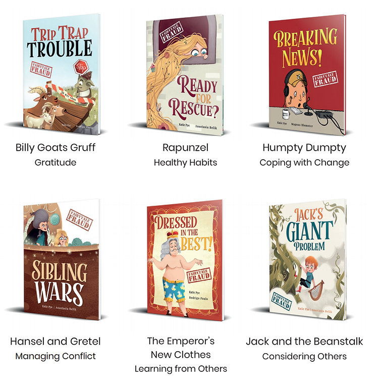 Fairytale Fraud stories get kids talking