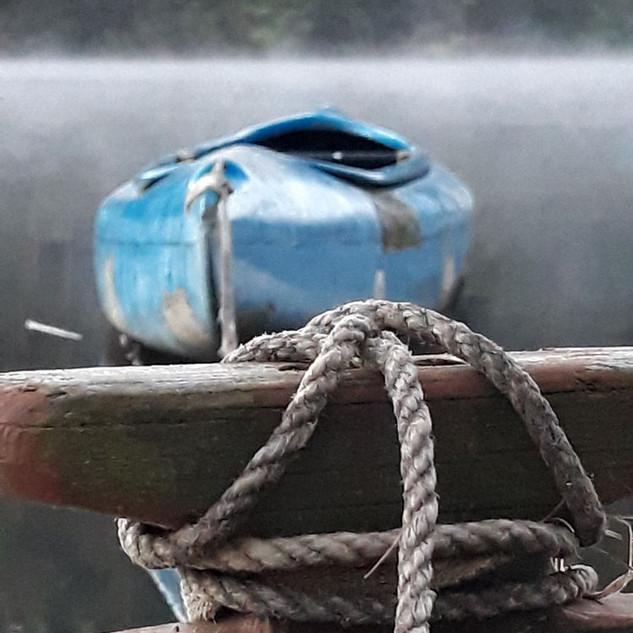 Loď pevně uvázaná