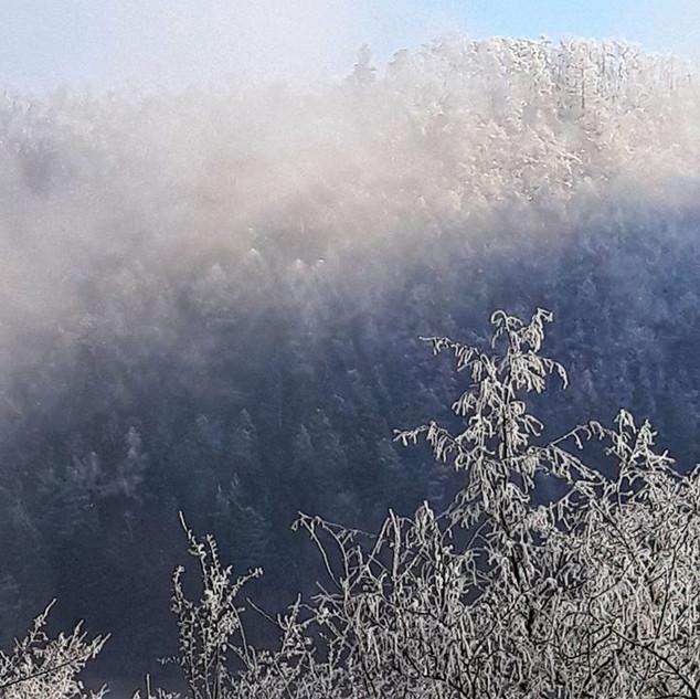 Konečně přišla do našeho údolí zima