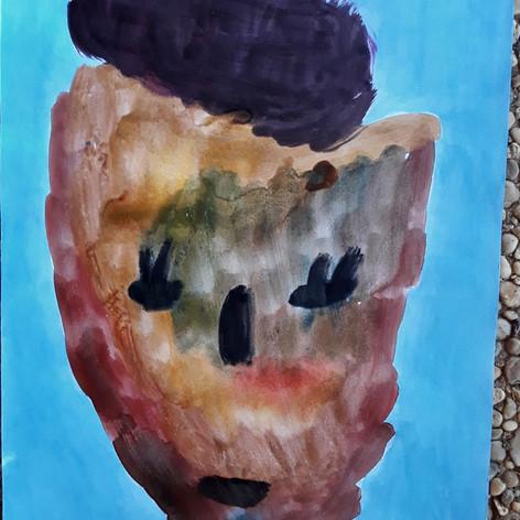 Karamelová maska 1