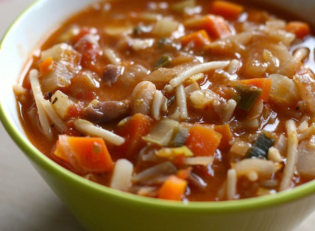 Art of cooking (Minestrone)