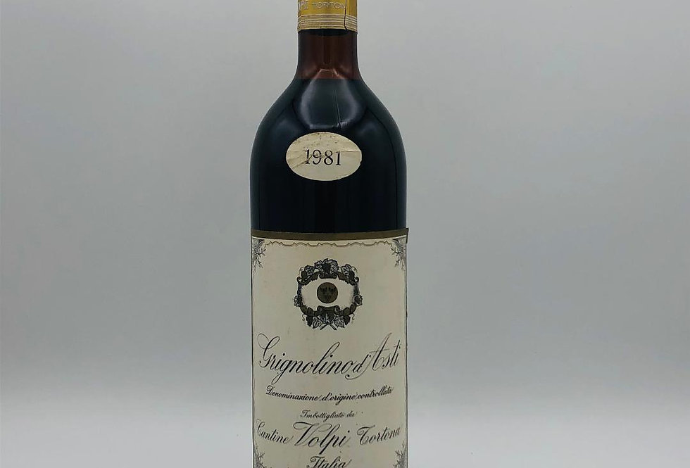 Grignolino d'Asti 1981 Italian wine