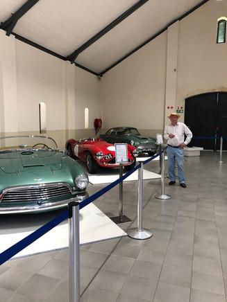 Car museum in Stellenbosch, South Africa