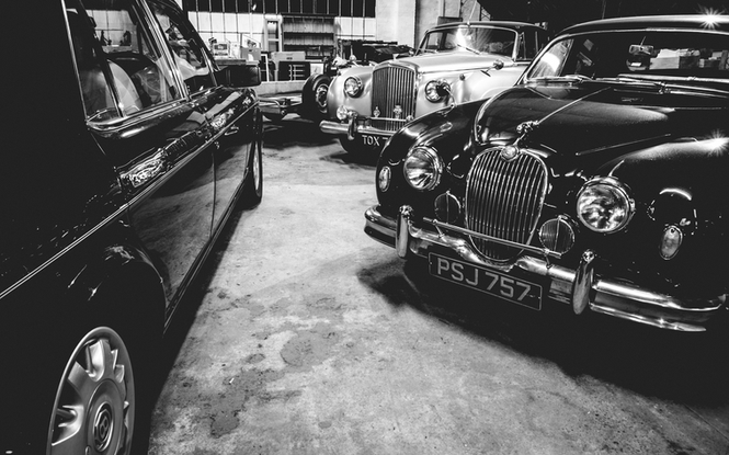 Classic cars previously loved by the Underwoods