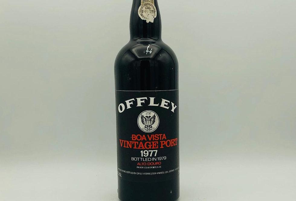 Port : Offley Vintage Port 1977 bottled in 1979