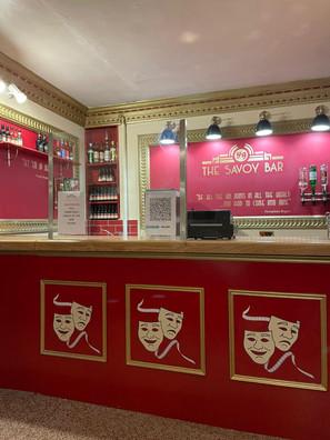 Savoy bar & masks.JPG