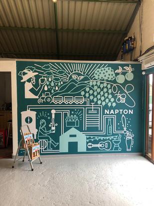 Napton Mural