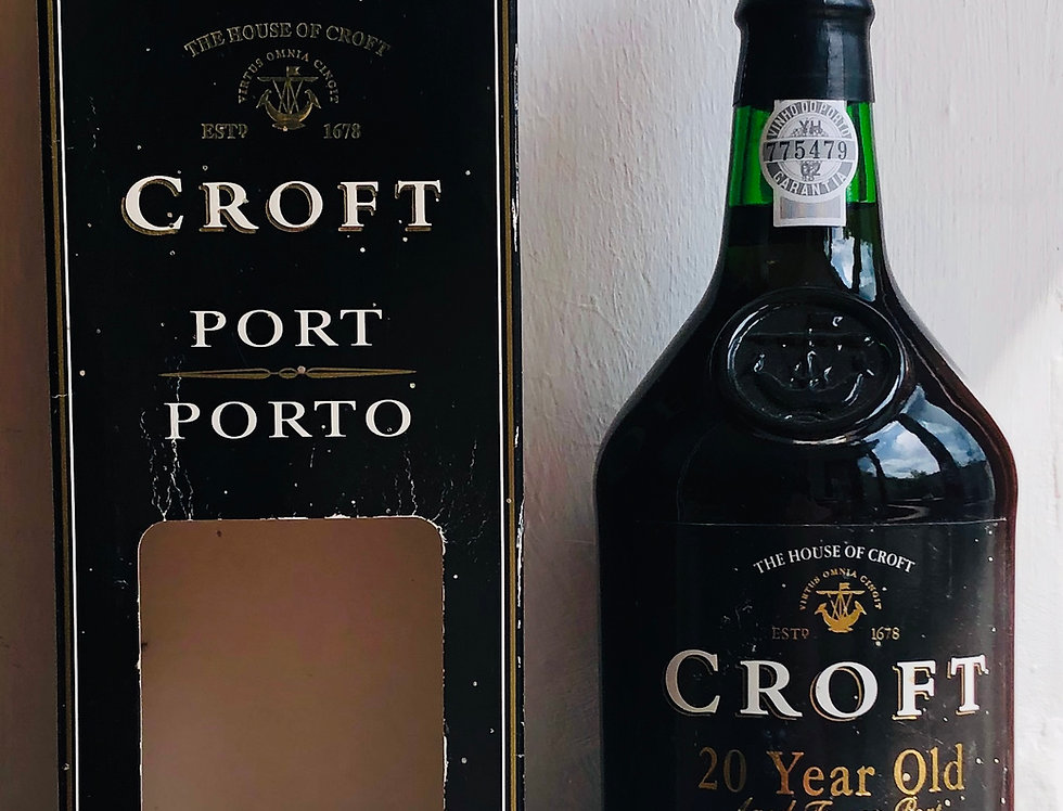 Port : Croft Tawny 20 year old bottled 2002