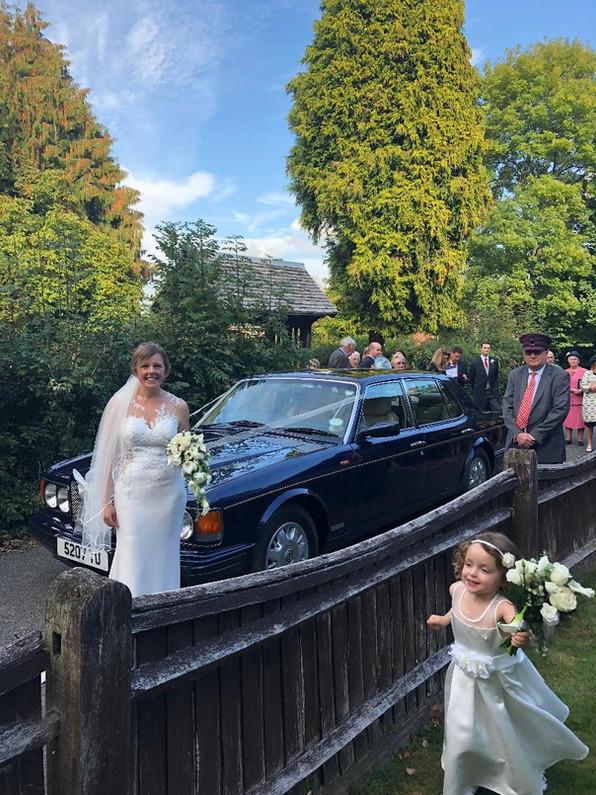 H's Wedding with full Bentley service