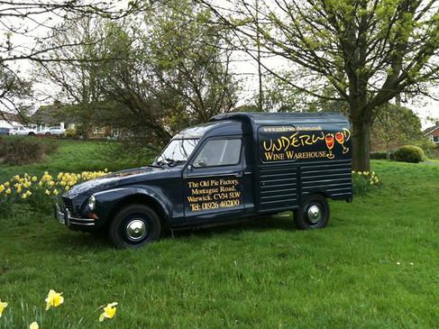 Underwoods loved van
