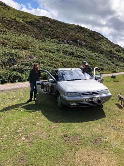Citroen goes to Scotland