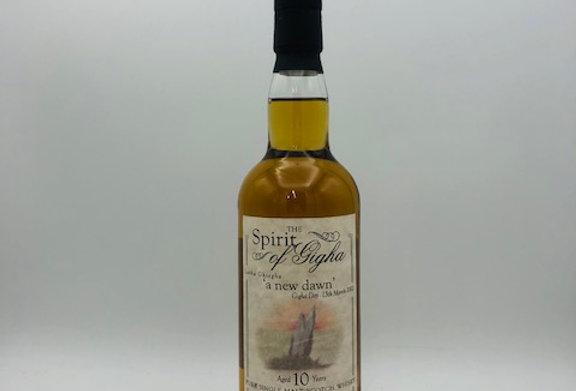 Whisky : SPIRIT OF GIGHA Single Malt 10yrs Bottled 2002